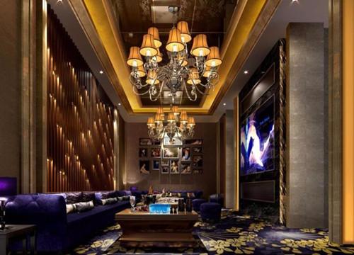 巴厘岛一层KTV贵宾包房装饰设计施工