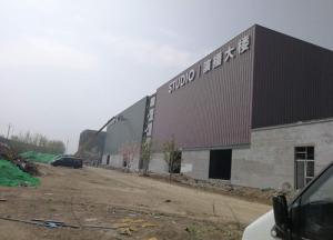 柏莱特导播楼钢结构专业施工