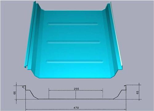 360直立缝锁边屋面板