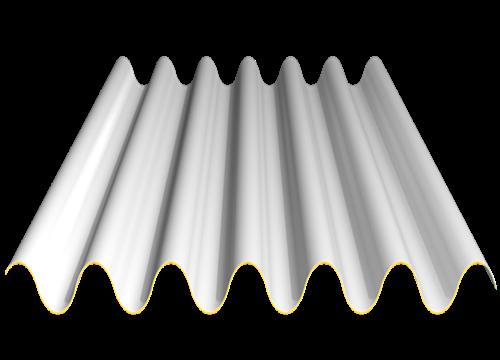 单板(明钉式圆浪板)