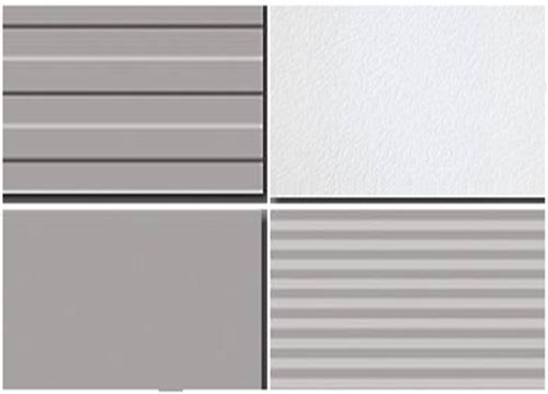 夹芯板板型效果