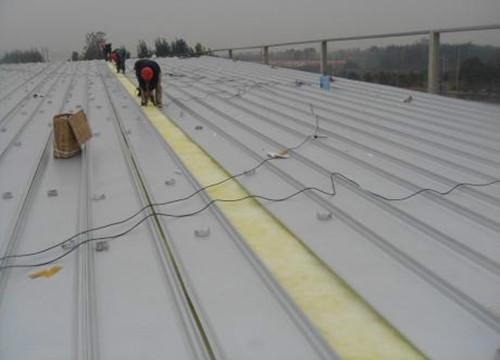 屋面板安装