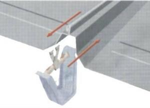 360直立缝锁边板