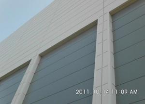 金属墙板(玻璃棉夹芯板)