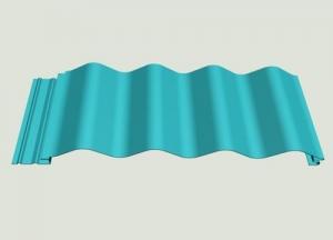 隐钉式圆浪板